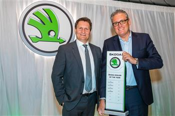 ŠKODA Australia names 2017 Dealer of the Year