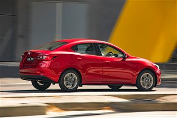 2018 Mazda2, Soul Red Crystal