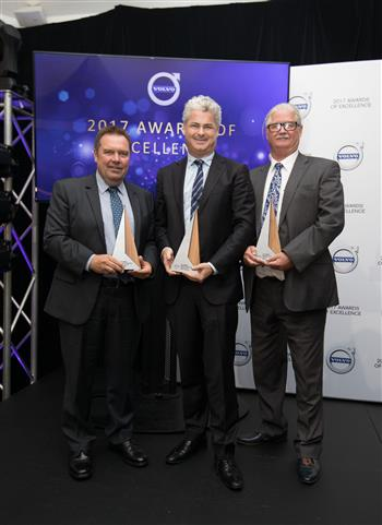 Volvo Car Australia announces winners of its 2017 Awards of Excellence for top dealers