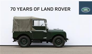 70 Years of Land Rover - Series 1