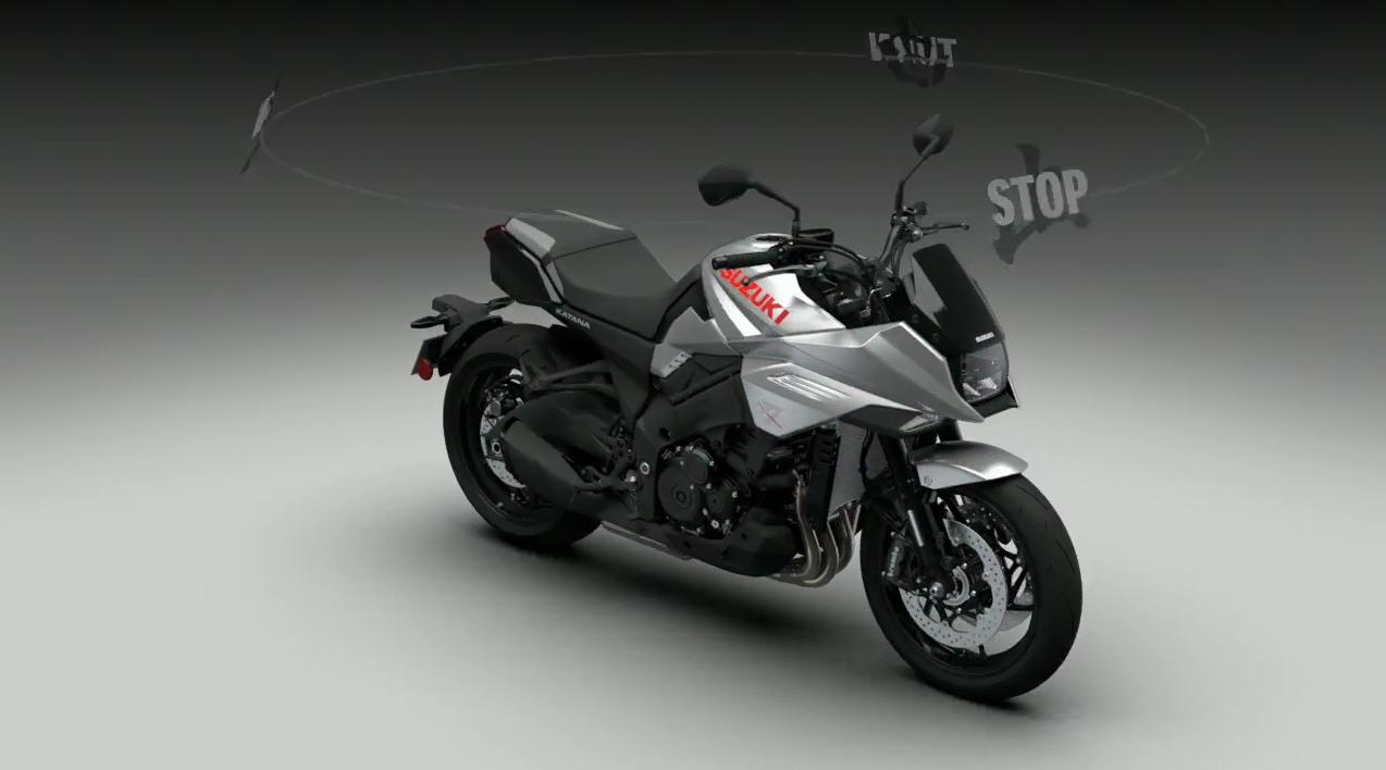 2020 Suzuki GSX1100S KATANA - Concept