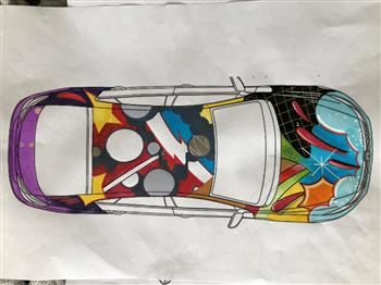 Volkswagen apprentices collaborate with Aussie auto industry to build 360kW Art Car