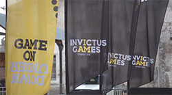 First medals of the Invictus Games Sydney 2018 awarded by HRH Duke and Duchess of Sussex at the Jaguar Land Rover Driving Challenge on Cockatoo Island, Sydney, ahead of tonight's Invictus Games opening ceremony