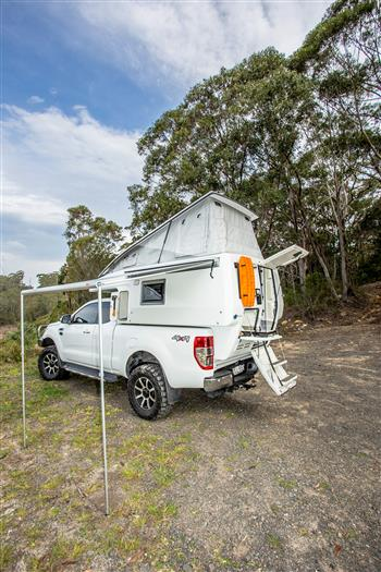 The Earthcruiser Express XPS Slide-on Camper