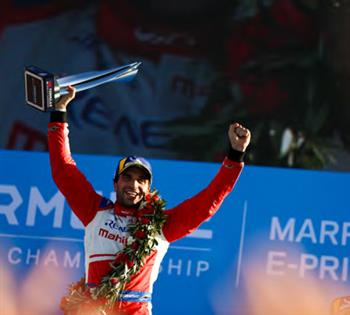 Mahindra Racing Victorious Again In Marrakesh As D'Ambrosio Takes The Win