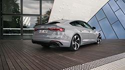 2019 Audi RS 5 Sportback b-roll footage.