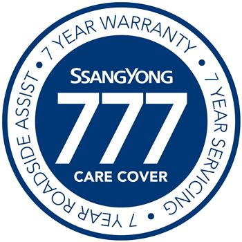 SsangYong Triple 7 warranty - logo