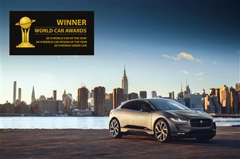 Jaguar I-PACE Wins Unprecedented Treble At 2019 World Car Awards