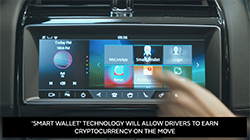 Drivers will be able to earn cryptocurrency and make payments on the move using innovative connected car services being tested by Jaguar Land Rover.  Using 'Smart Wallet' technology, owners earn credits by enabling their cars to automatically report useful road condition data such as traffic congestion or potholes to navigation providers or local authorities...