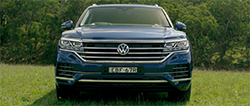 Volkswagen's long anticipated new Touareg Launch Edition SUV is in showrooms with more power, luxury and equipment and vastly more advanced technology than the comparable outgoing model.