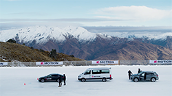 With the widest range of AWD vehicles of any popular manufacturer, Volkswagen is showcasing the breadth of its 4MOTION all-wheel drive range with the ultimate test of traction – the icy pans of the Southern Hemisphere Proving Ground in Queenstown, NZ, and the sweeping bends of Highlands Motorsport Park.