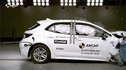 Australasia's independent authority on vehicle safety, ANCAP, has awarded Australasia's top-selling passenger car a 5 star ANCAP safety rating following testing against the most stringent criteria.