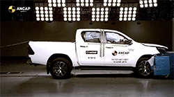 Australia highest selling vehicle model, the Toyota Hilux, has received the latest accolades from vehicle safety authority, ANCAP, following the introduction of a range of upgrades and a fresh round of independent tests to the most stringent 2019 criteria resulting in an upgraded 5 star rating.
