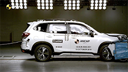 Australasia's independent authority on vehicle safety, ANCAP, has announced a 5 star safety rating for the current generation Subaru Forester. The rating for this latest Forester makes it the fourth generation of this model to achieve the maximum rating.