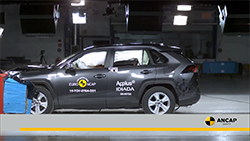 The new Toyota RAV4, has achieved the maximum 5 star ANCAP safety ratings in the latest round of independent vehicle testing...
