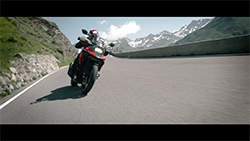Suzuki V-Strom 1050 promotional video.