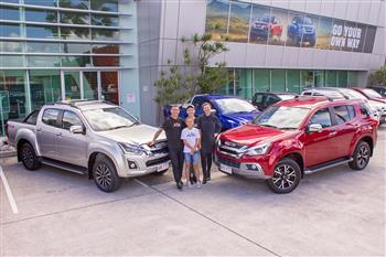 Isuzu UTE Australia Announces Partnership with Mat Rogers and Chloe Maxwell