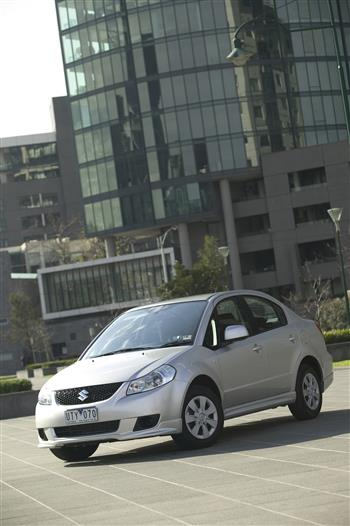 2007 Suzuki SX4 2WD sedan