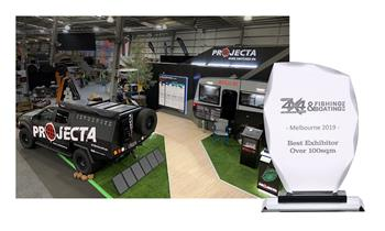 Brown & Watson International takes back to back stand award at National 4X4 Show.