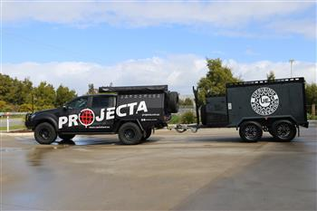 Projecta helps a Tradie Trailer Uprising