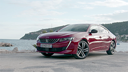 Peugeot at Paris Motor Show - All-New Peugeot 508 Press Kit.