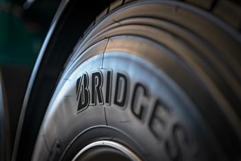Bridgestone tyre sidewall
