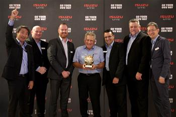 Isuzu UTE Dealership Network Awarded for Ongoing Excellence