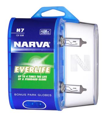 Narva's smart new performance globe packaging benefits both customers and retailers
