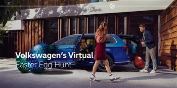 Volkswagen Australia's new website is having an Easter egg hunt
