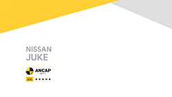 Australasia's leading independent vehicle safety authority, ANCAP SAFETY, has today published a 5 star safety rating for the new Nissan Juke...