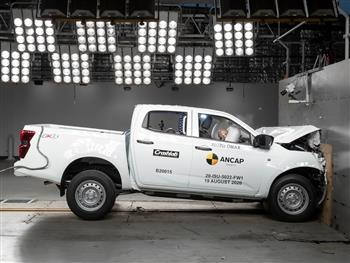 The All-New '5 Star' Isuzu D-MAX: One Of The Safest Vehicles On Australian Roads.