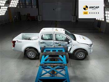 The All-New '5 Star' Isuzu D-MAX: One Of The Safest Vehicles On Australian Roads.