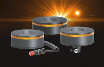 The future's bright: HELLA launches innovative K-LED Rebelution warning beacon