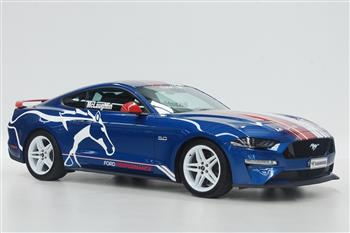 Shannons to auction unique 'Speed Comparison ' McLaughlin Mustang for kids facing cancer
