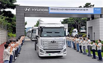 Allison Equipped Hyundai XCIENT Fuel Cell Electric Truck Powers its Way to Switzerland