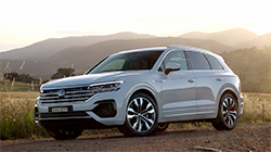 Volkswagen's Touareg V8 is the premium performance choice...