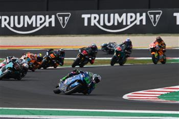 Against all odds: Moto2 beats the challenge of 2020 as Triumph powers another record-breaking season