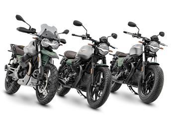 2021 Moto Guzzi 85 TT, V7 & V9 Centenario
