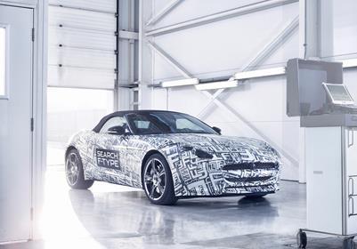 Jaguar announces new sports car: the F-TYPE