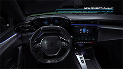 The Peugeot brand is proud to present the brand-new Peugeot 308...