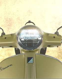 The Vespa 75th Will Be Sold In 2021 Only: A Unique Offer To Celebrate A Legend That Has Accompanied Our Changing Lifestyle Over 75 Years  Available In The Primavera 150 And GTS 300 Models, With A Styling Created Specifically For The Anniversary: An Exclusive Livery, Special Finishes, New Saddle And Chrome-Plated Luggage Rack For A Bag Designed For The Scooter