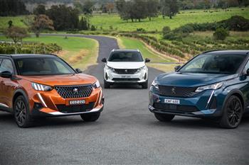 2021 Peugeot SUV range