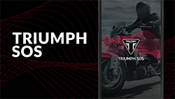 Introducing Triumph SOS, an all new accredited advanced accident detection and emergency alerting system from Triumph that automatically connects you to the nearest emergency services in your time of need.