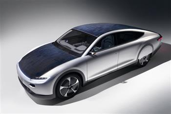 Bridgestone and Lightyear combine forces for the world's first long range solar electric powered car