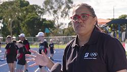 Cathy Freeman joined Bridgestone at the Bridgestone Athletics Centre to inspire the next generation to chase their dream.