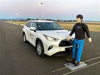 Toyota Kluger provides 5 star safety