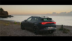 CUPRA launches the Formentor with Nathalie Emmanuel and Loyle Carner.