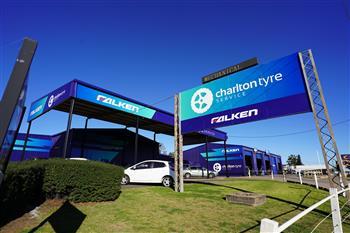 Falken Rebrands Charlton Tyre Service