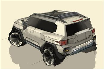 SsangYong previews next-generation SUV, code named KR10
