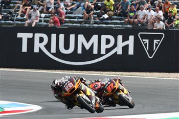 Triumph To Power Moto2™ For Another Three Years